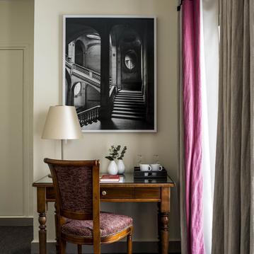 chambre superieure/superior room - Hotel de la Place du Louvre - Paris