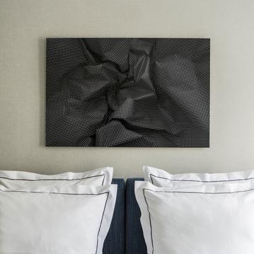 Art in your room at the Hotel de la Place du Louvre